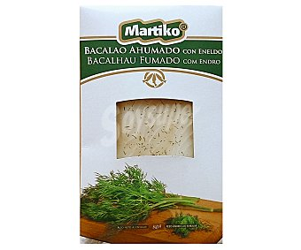 MARTIKO Bacalao ahumado sobre 80 g