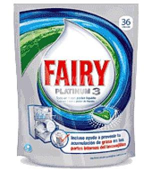 Fairy Lavavajillas maquina platinum pastilla 36 ud