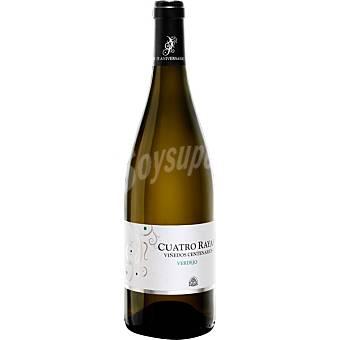 Cuatro Rayas Vino blanco verdejo d.o.rueda Viñedos Centenarios Botella 75 cl