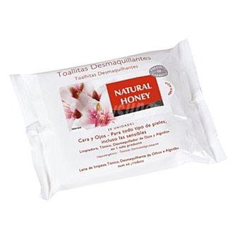 Natural Honey Toallitas desmaquillantes 20 unidades