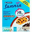 Barrita de chocolate eroski Sannia Caja 138 g Eroski Sannia