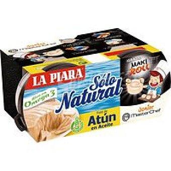 La Piara Paté de atún en aceite natural Pack 2x75 g