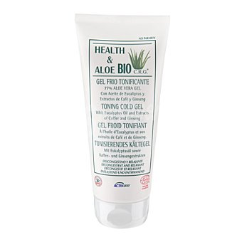 Health & Aloe Bio Gel frío tonificante con Aloe Vera 200 ml