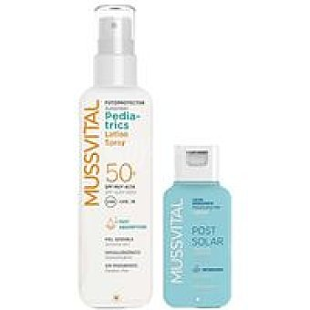 FP 50 MUSSTIVAL Pediatric Spray 200 ml + Post solar 100 ml
