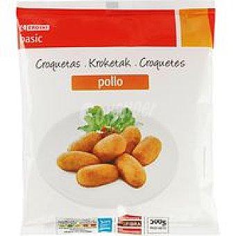 Eroski Basic Croquetas de pollo Bolsa 500 g