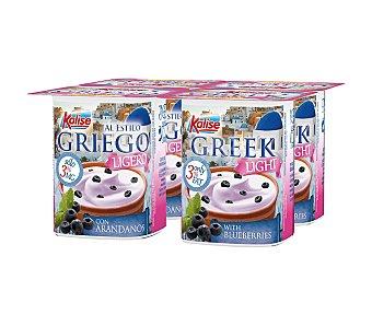 Kalise Yogur con arandanos Pack de 4x125 g