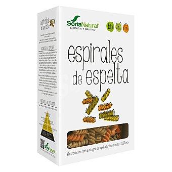 Soria Natural Espirales ecológicas elaboradas con harina integral de espelta Envase 250 g