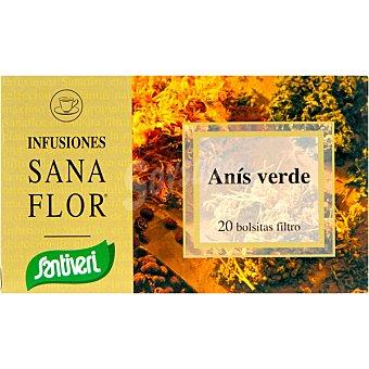 SANTIVERI Sanaflor Infusión de anís verde Envase 20 unidades