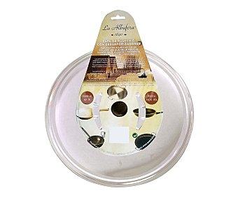 LA ALBUFERA Tapa multiusos de aluminio con desvaporizadores para sartenes de 22 centímetros de diámetro 1 Unidad