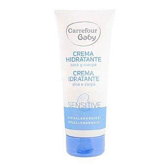 Carrefour Baby Crema hidratante cara y cuerpo para pieles sensibles 200 ml