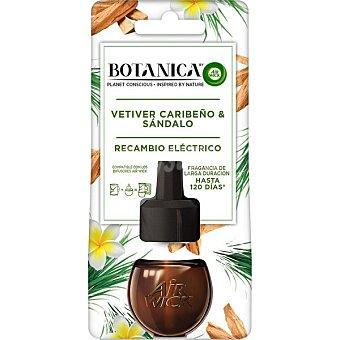 Botanica Ambientador pulverizador Vetiver Caribeño & Sándalo recambio 19 ml