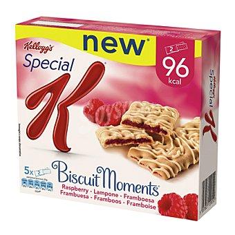 Special K Kellogg's Barrita biscuit moment frambuesa Special K Un paquete de 5 unidades
