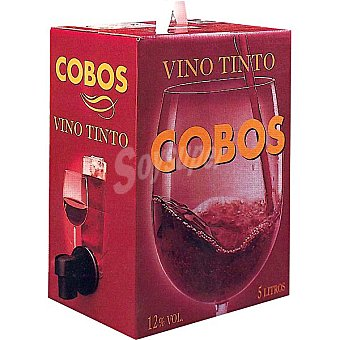 Cobos Vino tinto de Andalucía bidon 5 l
