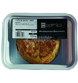 CAPRICI Tortilla patata/cebolla 1 UNI