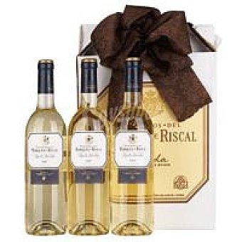 Marqués de Riscal Vino Blanco Rueda Pack 3x75 cl