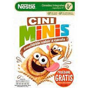 Nestlé Cereal cini minis nestlé, caja 375 G Caja 375 g