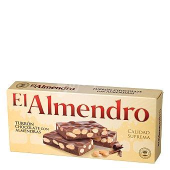 El Almendro Turrón chocolate con almendras 300 g