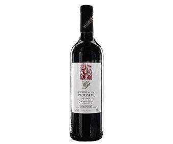 Valdepeñas Vino tinto con denominación de origen cerro DE LOS pastores Botella de 75 cl