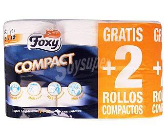 Foxy Papel higiénico compact Paquete 6 uds