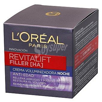 L'Oréal Crema de noche anti-edad Revitalift Filler Tarro 50 ml