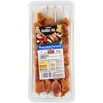 Eroski Faccile Pincho de cerdo al curry 4 unid