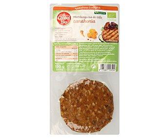 CEREAL BIO Hamburguesa de tofu con zanahoria Pack de 2 unidades de 75 gramos