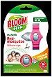 Derm pulsera repelente de mosquitos Común y Tigre talla mediana m/xl + 2 pastillas 2 pastillas Bloom