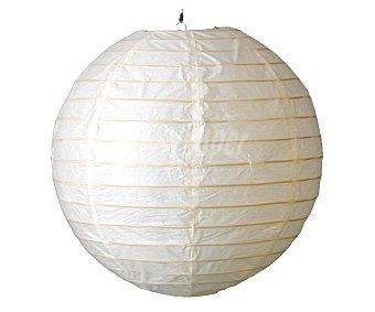 Dupi Lámpara de techo con diseño esférico fabricado con material de papel, color blanco, tamaño 40 cm, DUPI.