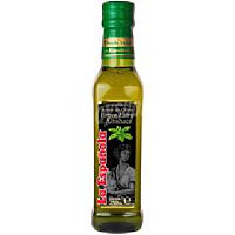 La Española Aceite oliva virgen extra albahaca 250 ml