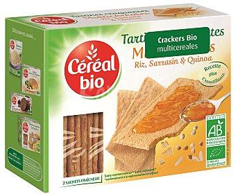 Cereal Bio Crackers ecológicos multicereales 145 gramos