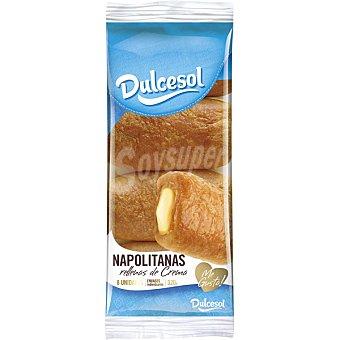 Dulcesol Napolitanas de crema bandeja 320 g 8 unidades