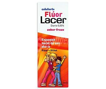 Lacer Fluor Diario Sabor Fresa Colutorio Bote 500 ml