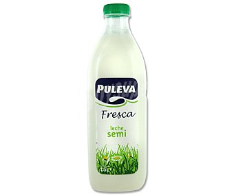 Puleva Leche Fresca Semidesnatada Botella 1.5 litro