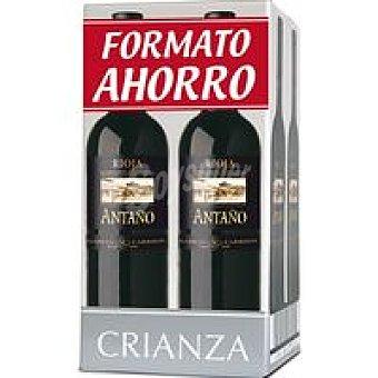 Antaño Vino Tinto Crianza Rioja 4x75 cl