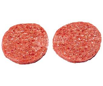 Dicarvi Bandeja con burger meat mixta (vacuno - cerdo) 6 x 80 g.