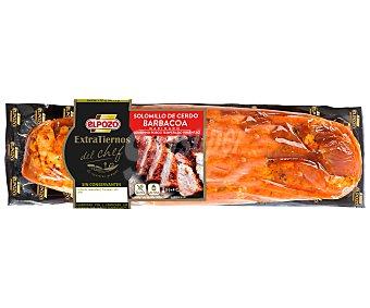 ElPozo Solomillo de cerdo macerado en salsa barbacoa Extratierno 580 gramos aproximados