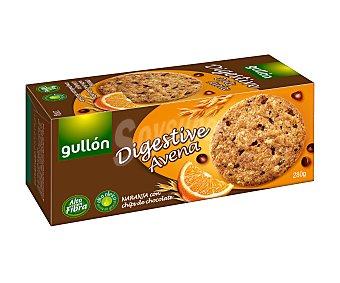 Gullón Galletas Digestive avena con naranja y chips de chocolate 280 g