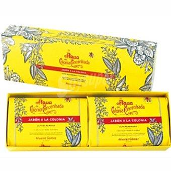 ALVAREZ GOMEZ Pastilla de jabón a la colonia con glicerina y avena Pack 2 pastilla 125 g