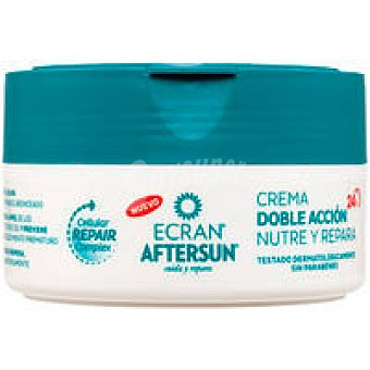 ECRAN Aftersun crema doble acción nutre y calma 200ml