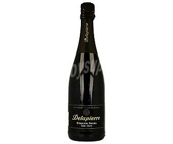 Delapierre Cava semiseco etiqueta negra Botella de 75 cl