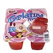 Gelatina fresa Pack de 4x100 g Kalise