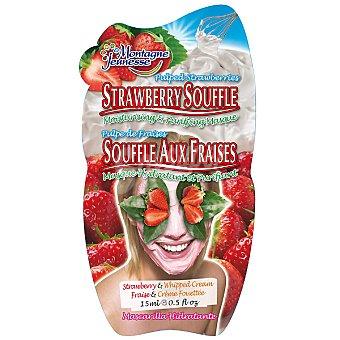 Montagne Jeunesse Mascarilla facial soufflé de fresas hidratante y purificante Envase 15 g