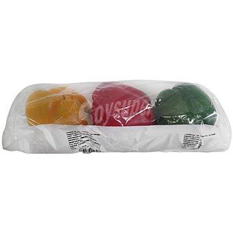 Pimiento California tricolor Bandeja 500 g