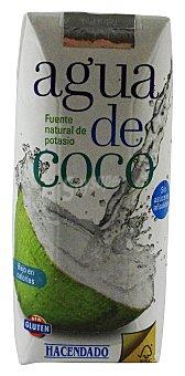 HACENDADO Agua de coco Brick de 330 cc