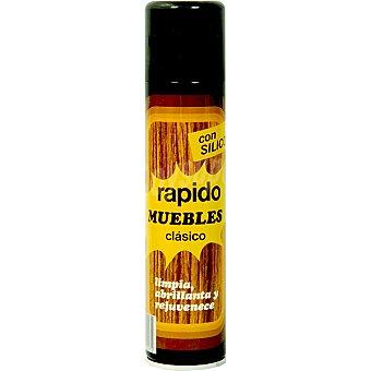 RAPIDO Limpia muebles con silicona botella 520 ml 520 ml