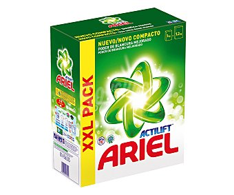 Ariel Detergente máquina polvo con actilif Maleta 70 cacitos