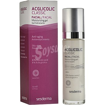 Sesderma Acglicolic classic gel hidratante antienvejecimiento para piel grasa Frasco 50 ml