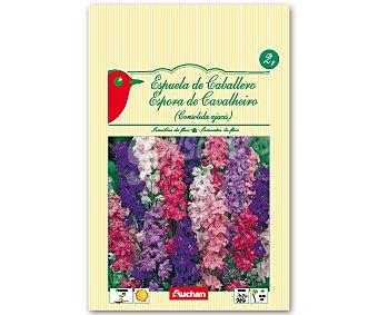 Auchan Semillas para plantar espuela de caballero de diferentes variedades 2 Gramos