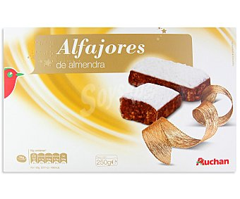 Auchan Alfajores de almendra 250 gramos