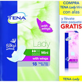 Tena Compresa Incontinencia Lady Mini Wings +ultra Mini